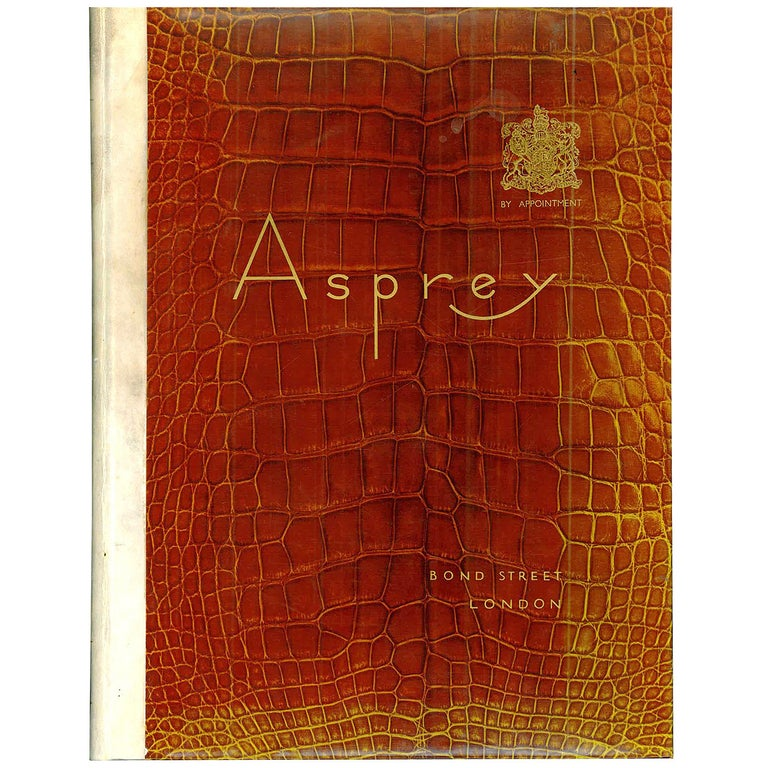 Asprey and Company Limited ( Art Deco Period Mail Order Catalogue ) For Sale