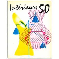 """""""Interieurs 50 - Apogee De La Geometrie Curviligne"""" Folio"""