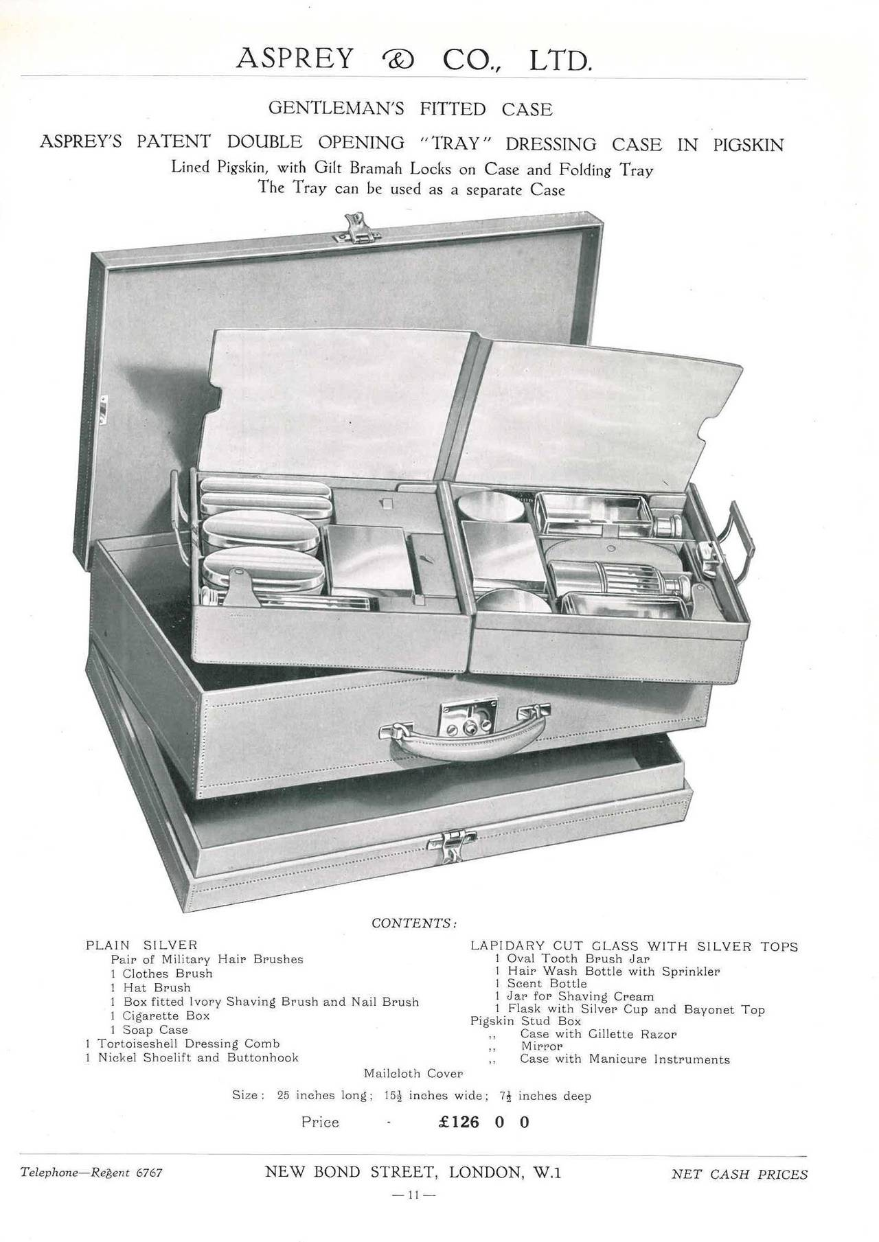 Asprey and Company Limited ( Art Deco Period Mail Order Catalogue ) 3