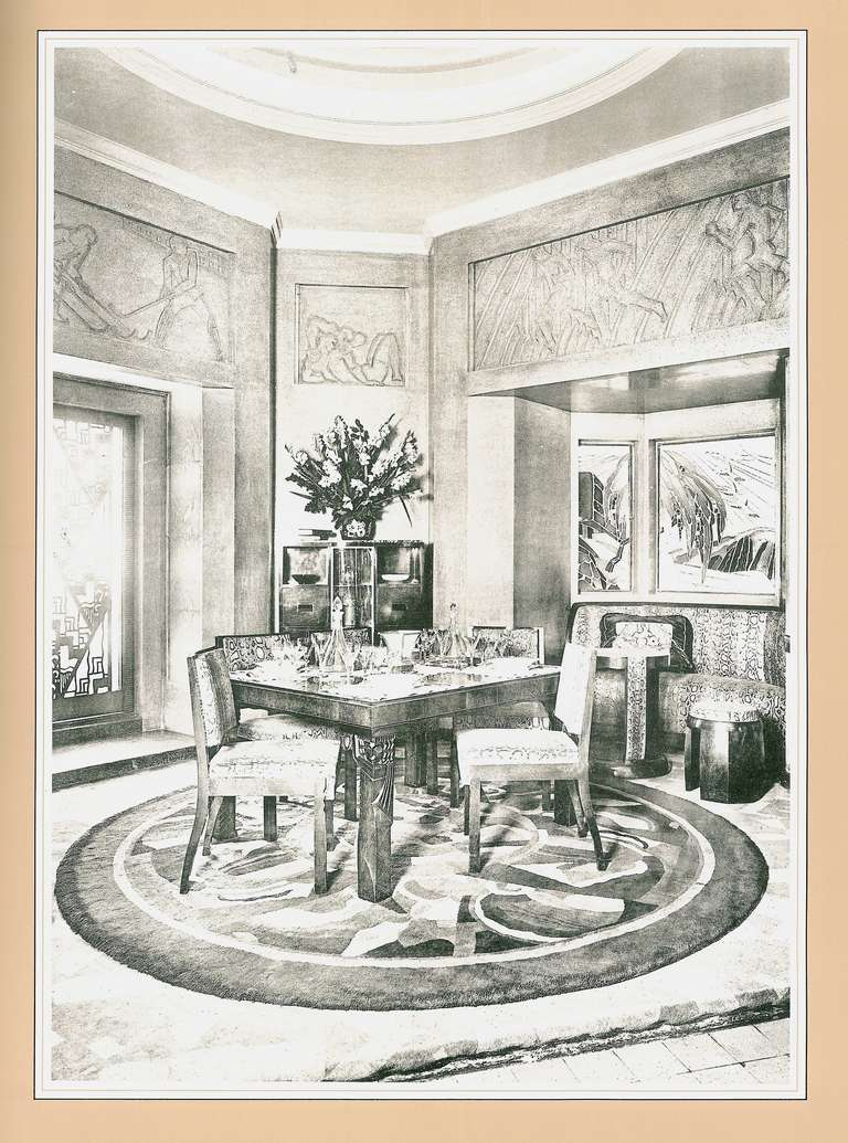 authentic art deco interiors from the 1925 paris. Black Bedroom Furniture Sets. Home Design Ideas