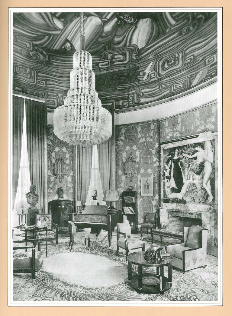 Authentic Art Deco Interiors From The 1925 Paris Exhibition At 1stdibs