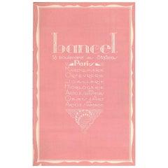 """""""Lancel"""" Trade Catalogue of Luxury Goods 'Guide Des Cadeaux'"""