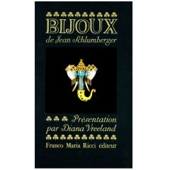 Bijou et Objets de Jean Schlumberger 'Books'