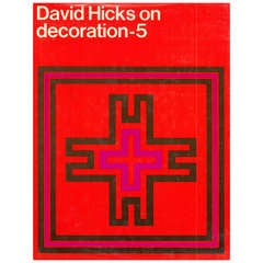 "David Hicks ""On Decoration - 5"" Interior Design Book"