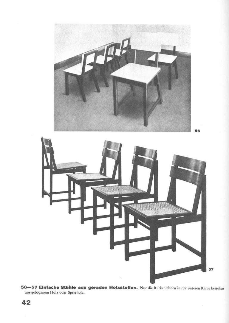 Charmant 20th Century Erich Dieckmann Mobelbau By Holz, Rohr, Stahl For Sale
