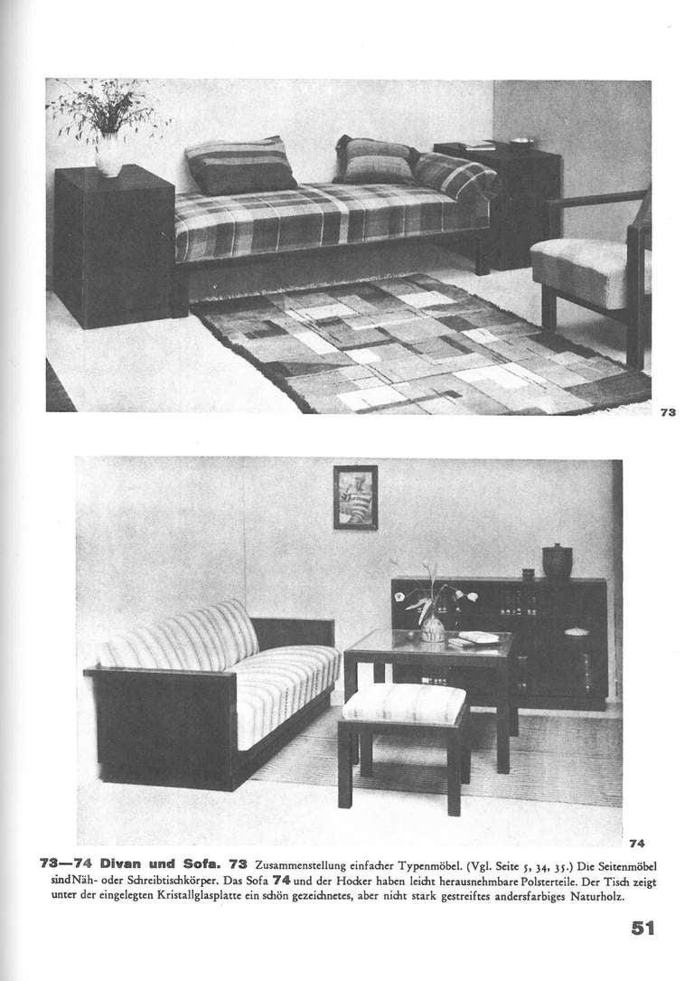 Erich Dieckmann Mobelbau By Holz, Rohr, Stahl For Sale 2