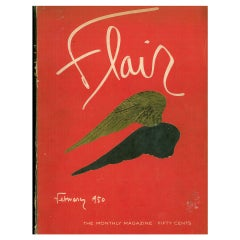 Flair Magazine - Complete Set February 1950 To January 1951