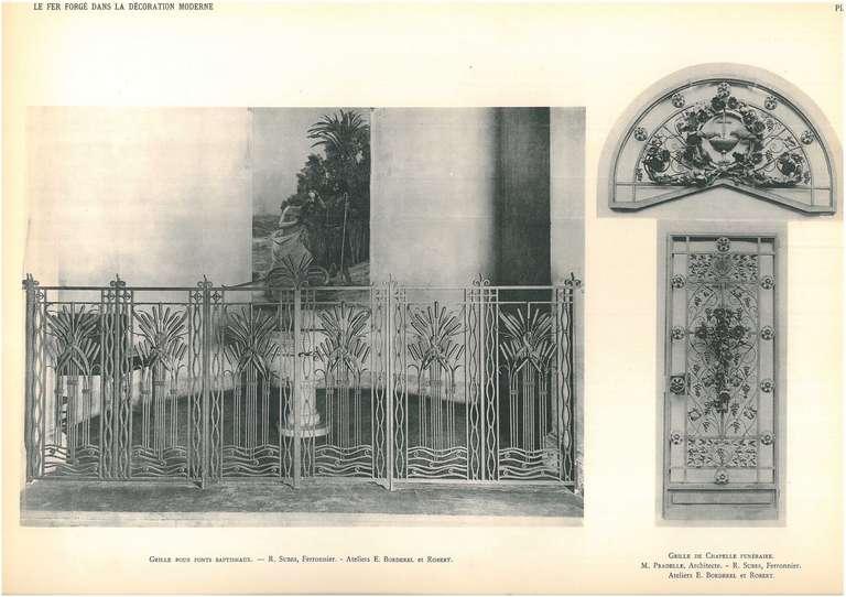 le fer forge dans la decoration moderne for sale at 1stdibs