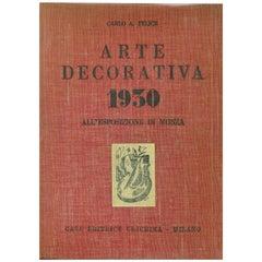 """""""Arte Decorativa 1930, All'esposizione di Monza"""" Book"""