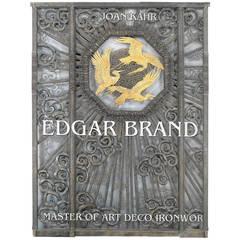 """EDGAR BRANDT - Master of Art Deco Ironwork"" Book"