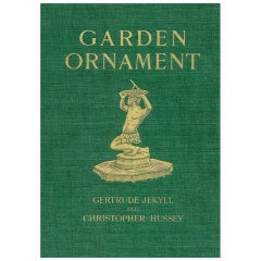 Garden Ornament- (book)