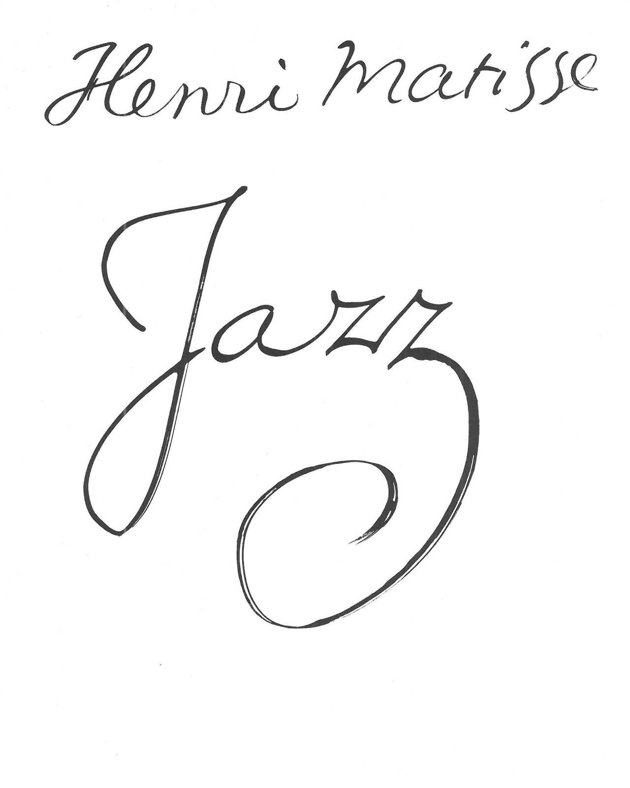 henri matisse jazz book at stdibs henri matisse jazz book 3
