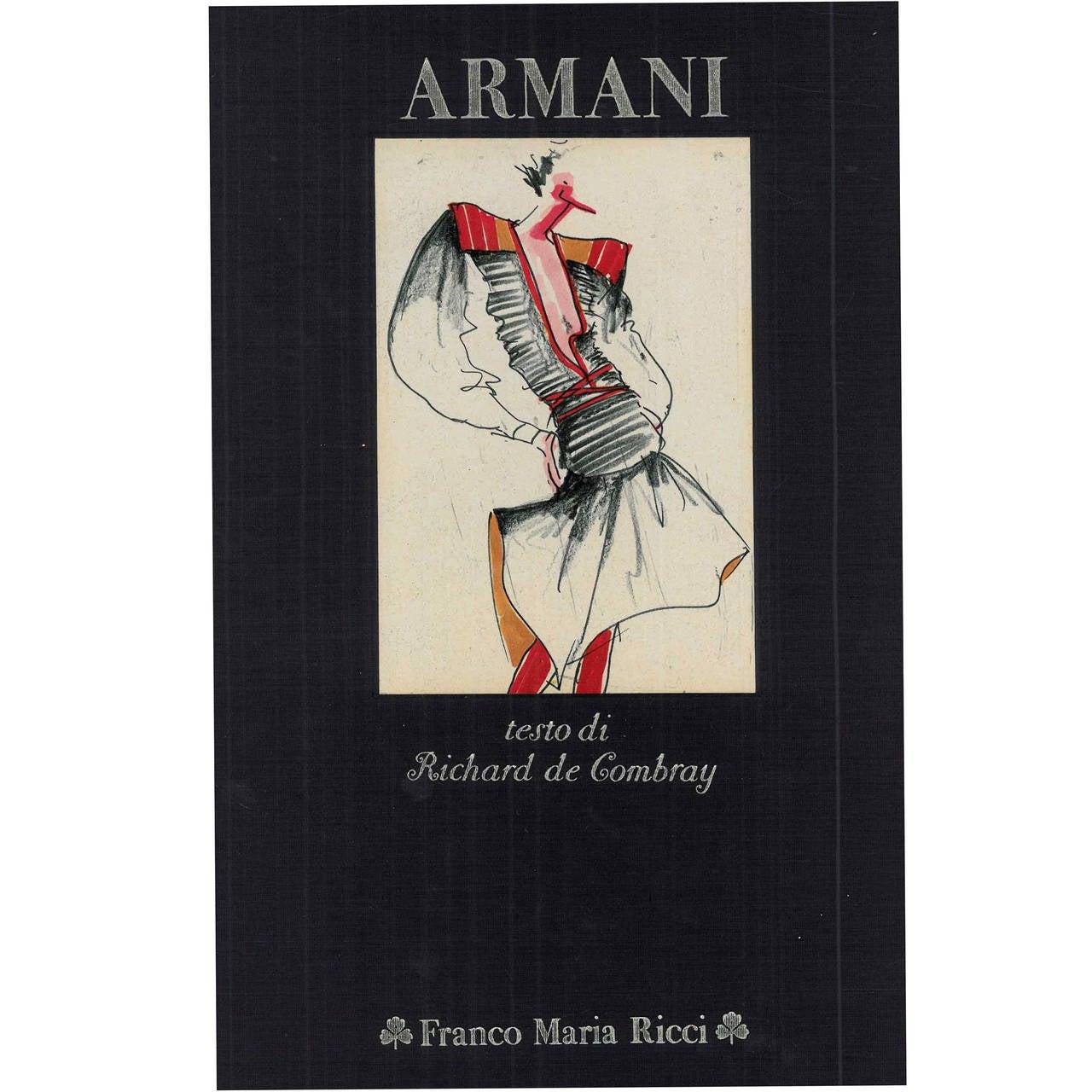 """Armani"" (book) - signed copy"