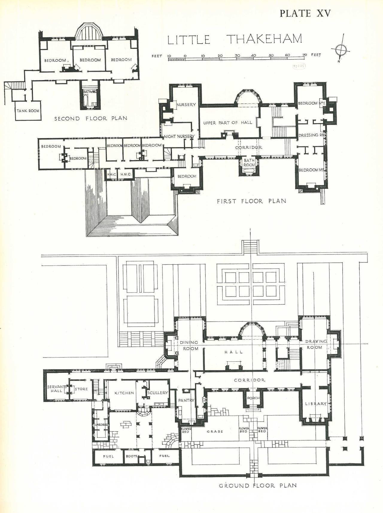 The architecture of sir edwin lutyens books the lutyens for House floor plan books