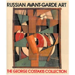 Book, Russian Avant-Garde Art: The George Costakis Collection