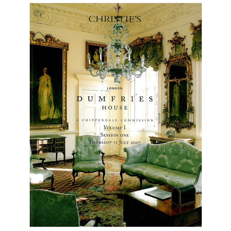 Dumfries House Sale Catalogue July 2007 At 1stdibs