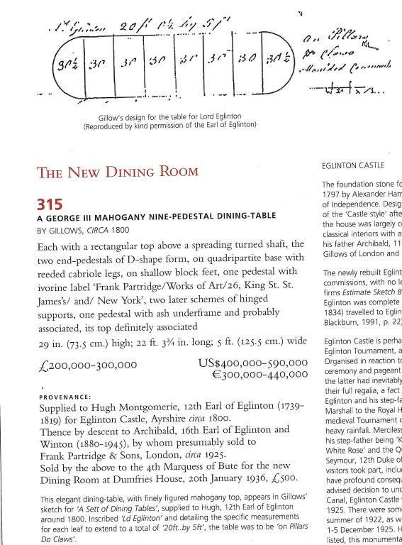 Dumfries House - Sale Catalogue July 2007 For Sale 1