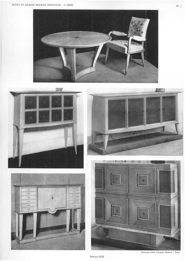 petits et grands meubles nouveax by georges fontaine at 1stdibs. Black Bedroom Furniture Sets. Home Design Ideas