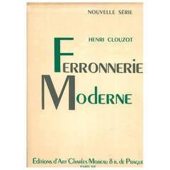 """Ferronnerie Moderne """"Henri Clouzot"""" Book"""
