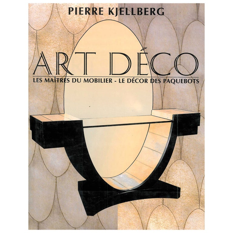 """Art Deco"" Book by Patrick Kjellberg For Sale"