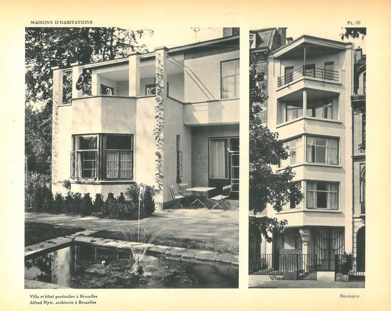 l international d aujourd hui maisons d habitations book vol 3 at 1stdibs