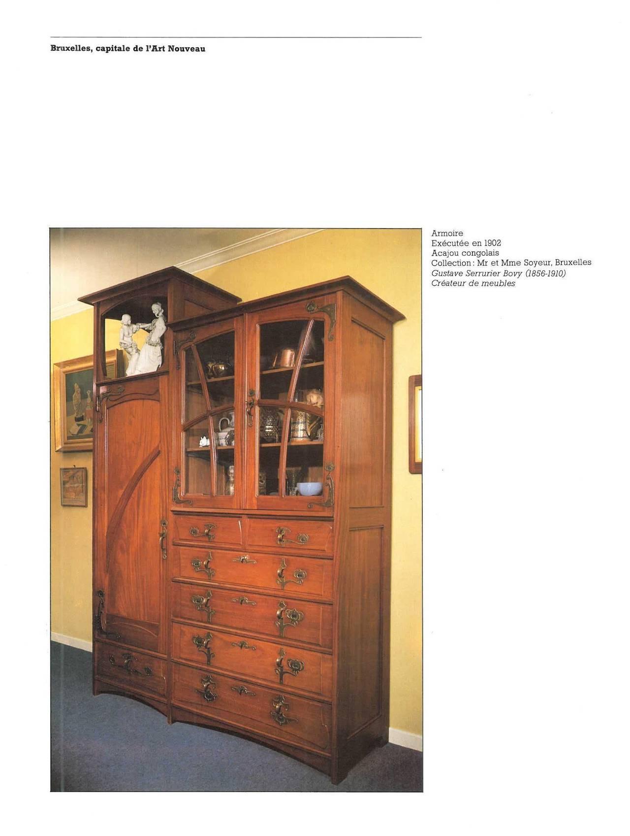 L 39 art du meuble en belgique au xxeme siecle book at 1stdibs for Meuble bruxelles