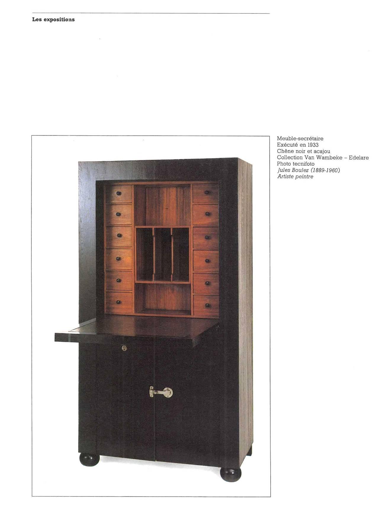 L 39 art du meuble en belgique au xxeme siecle book at 1stdibs for Comptoir du meuble bruxelles