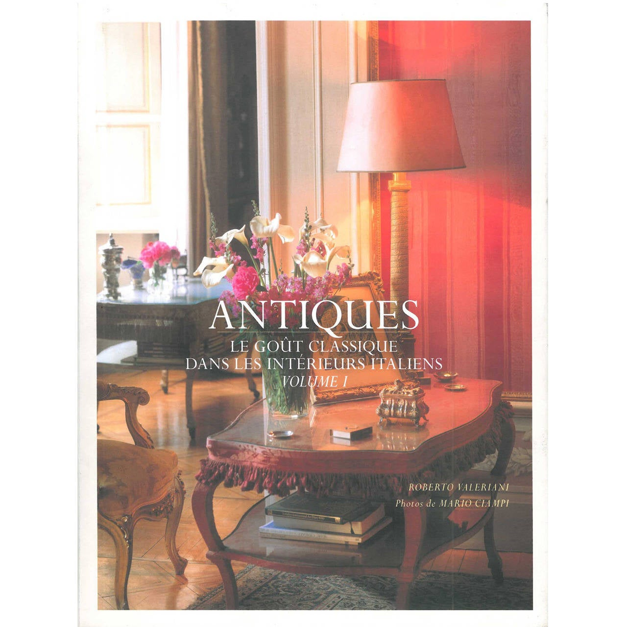"""""""Antiques in Italian Interiors"""" Book (Two Volumes)"""