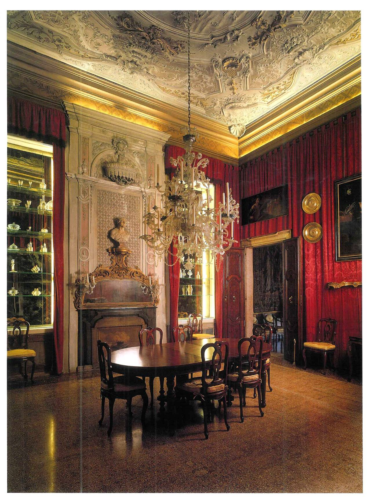 "Italian Interiors Antiques In Italian Interiors"" Book Two Volumes For Sale At 1Stdibs"
