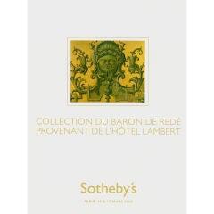 Baron De Rede Collection - Sotheby's Sale Catalogue