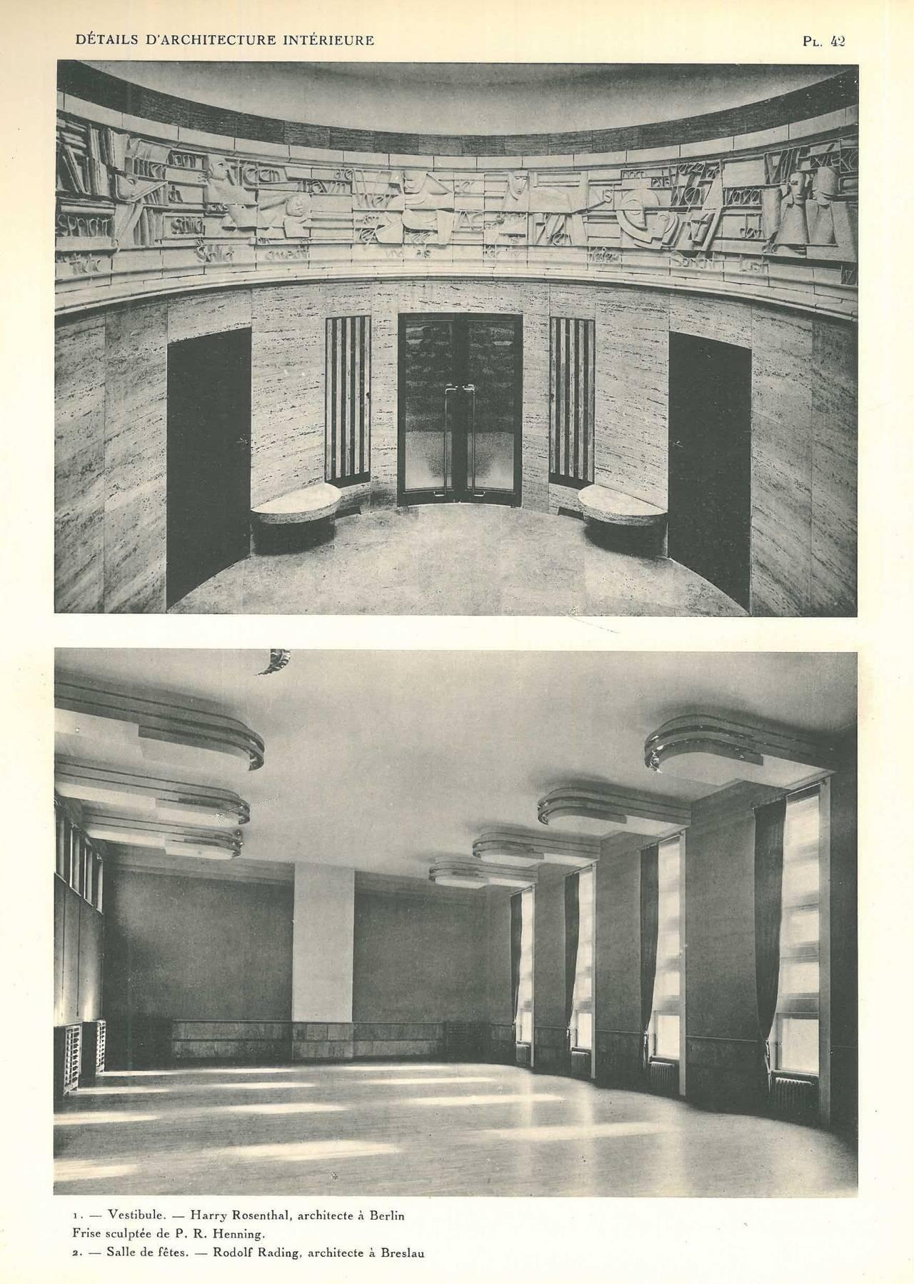 Quot Details D Architecture Interieure Quot Book L Art