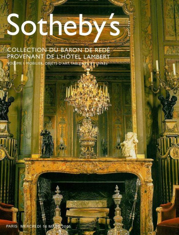Baron De Rede Collection Sotheby S Sale Catalogue At 1stdibs