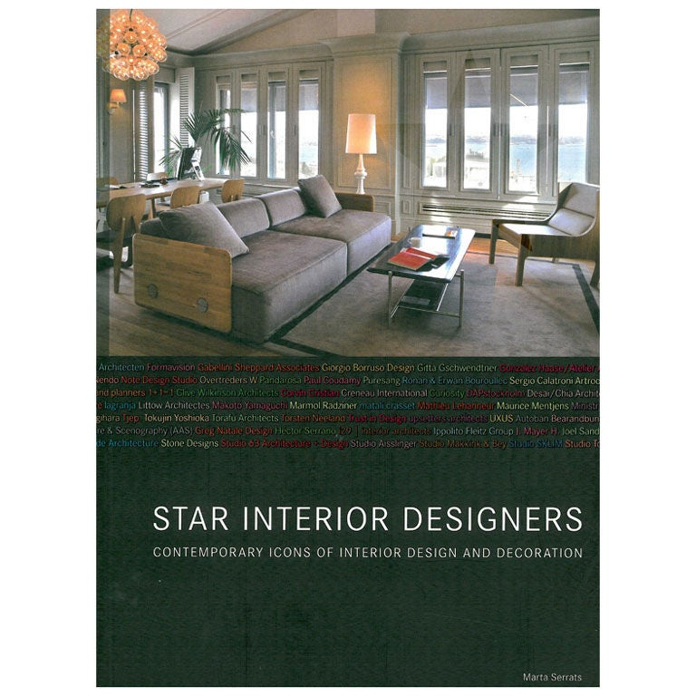star interior designers book at 1stdibs