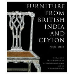 Furniture from British India and Ceylon. Book.