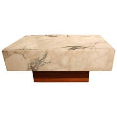 Italian Marble Top Cocktail Table