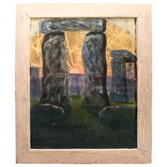 English Stonehenge Painting