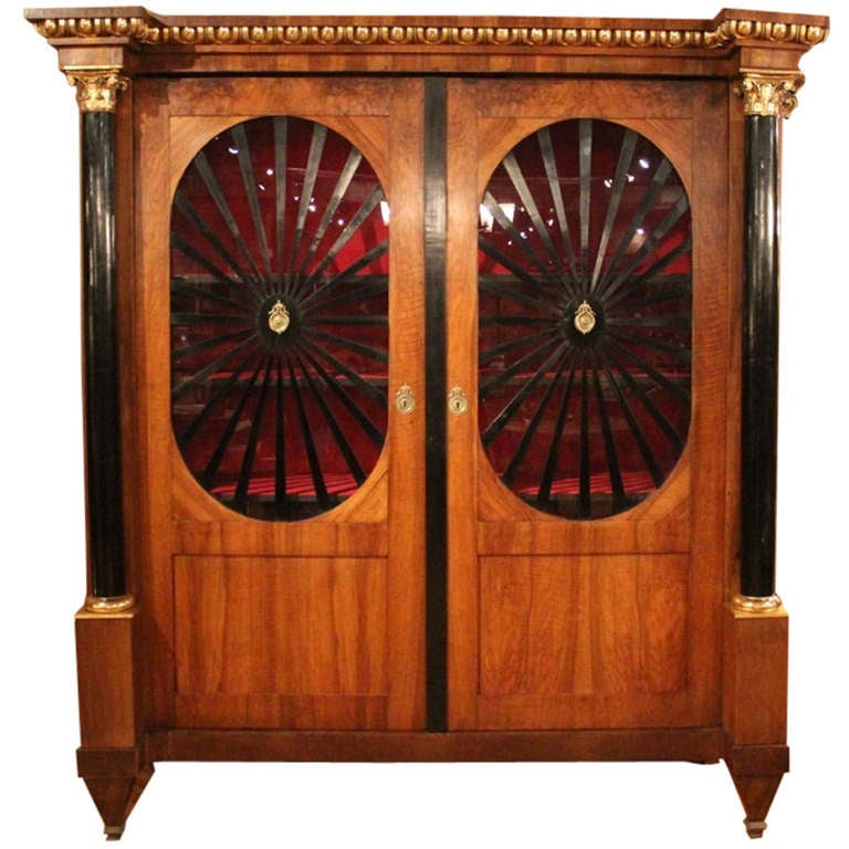 French Neo Classical Armoire At 1stdibs