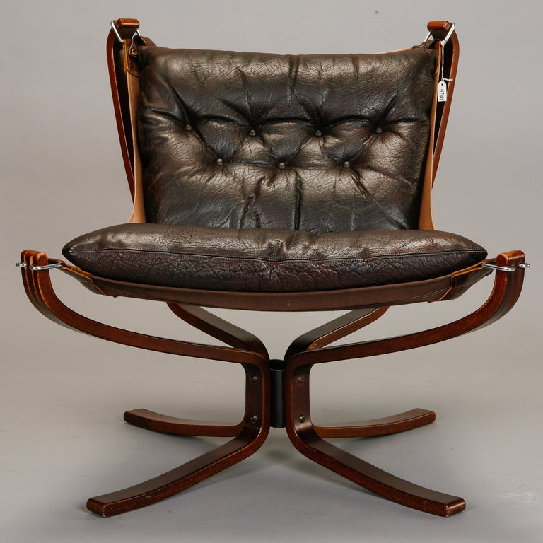 Pair Mid Century Sigurd Resell Falcon Chairs image 3