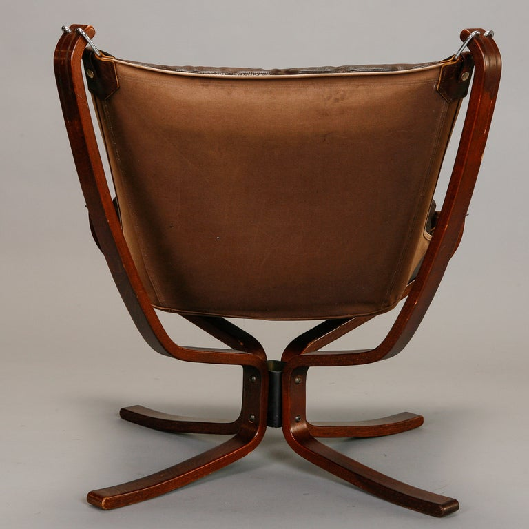 Pair Mid Century Sigurd Resell Falcon Chairs image 5