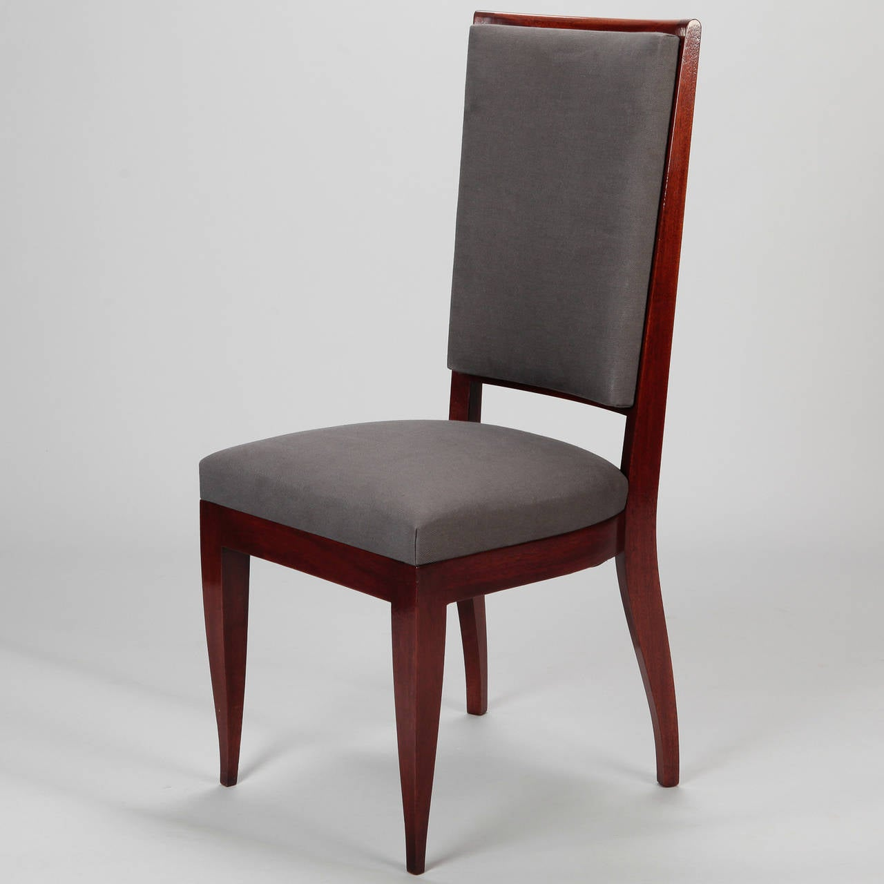 Set Of Eight French Art Deco Dining Chairs At 1stdibs