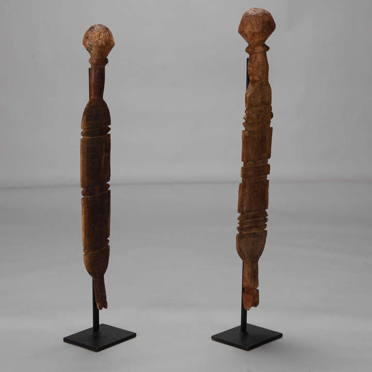 North african hand carved wooden element on stand at stdibs