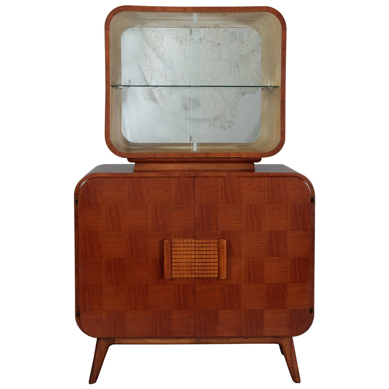 Jindrich Halabala For Up Zavody Bar Cabinet Or Vitrine At 1stdibs # Vitrine D Angle Moderne Design