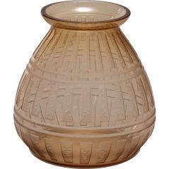 Signed Daum Art Deco Vase