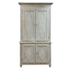 Large French White Cupboard