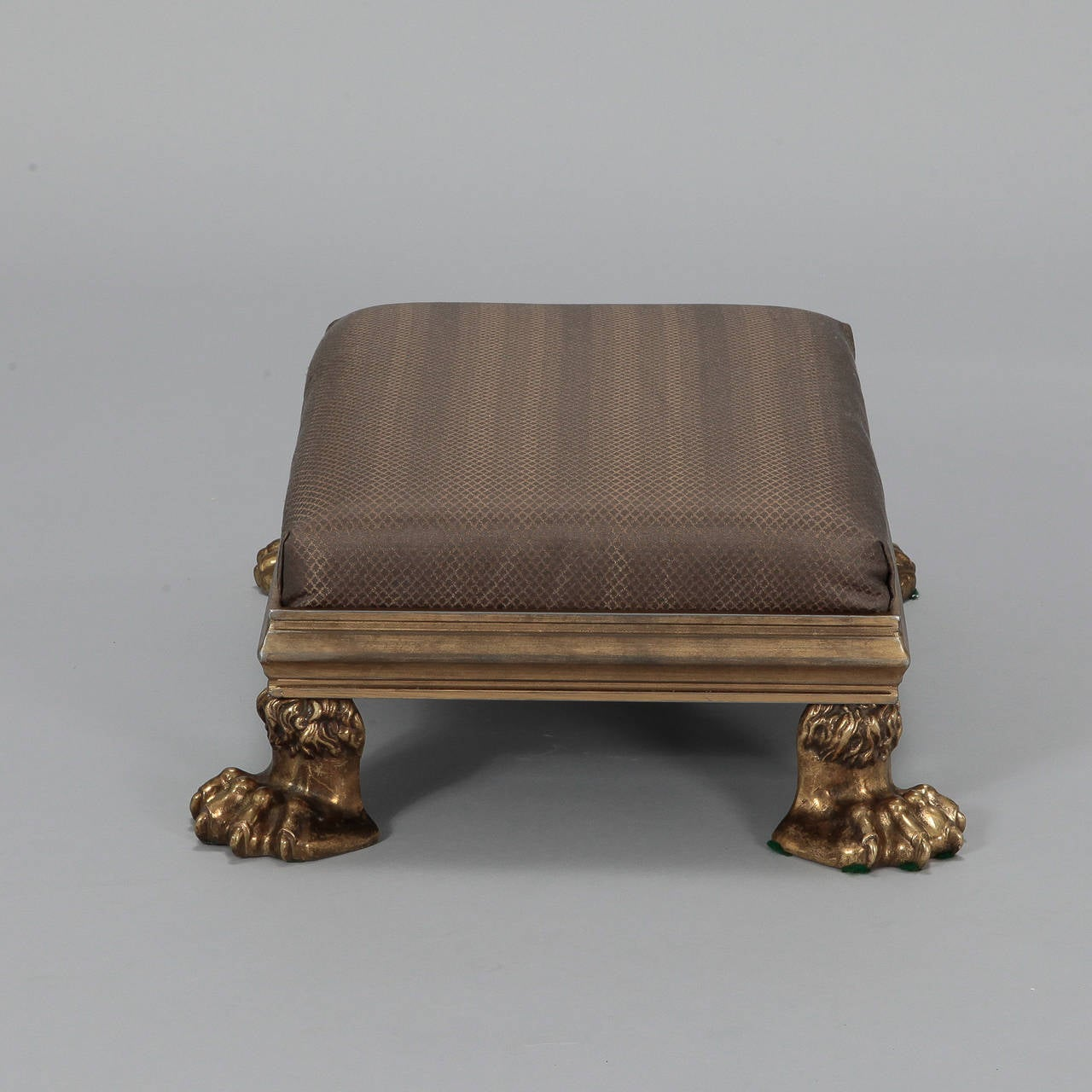 19th Century Brass Lion Claw Furniture Feet Made Into A