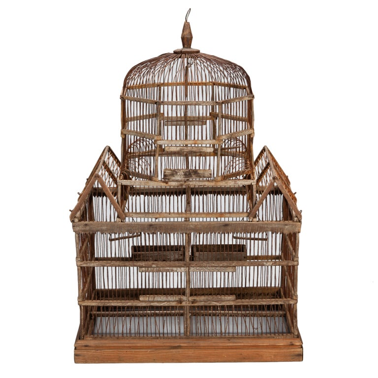 wooden bird cage designs 2