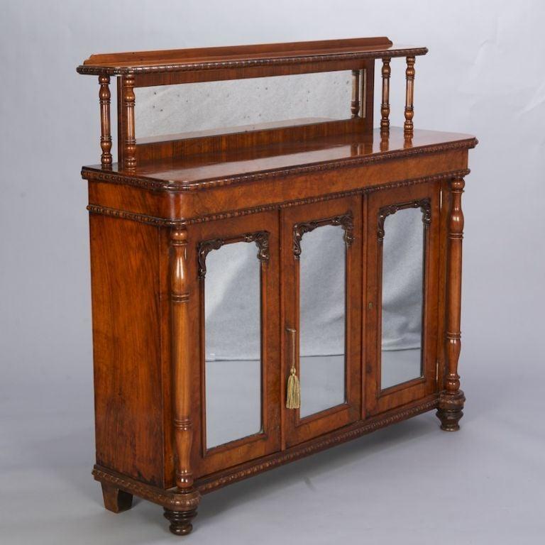 mahogany mirrored side cabinet at 1stdibs