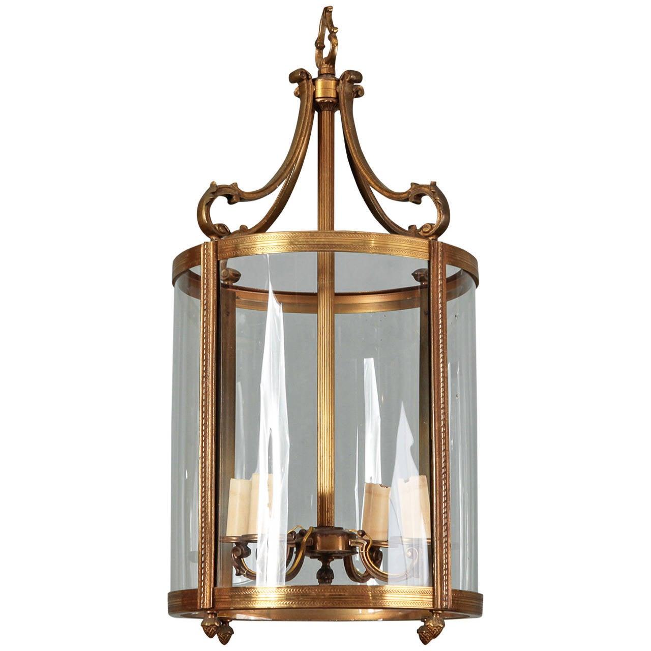 large bronze dutch lantern fixture at 1stdibs