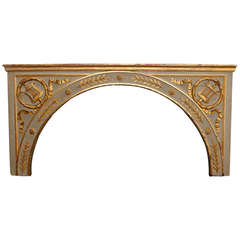 French Neoclassical Style Over-Door Arch