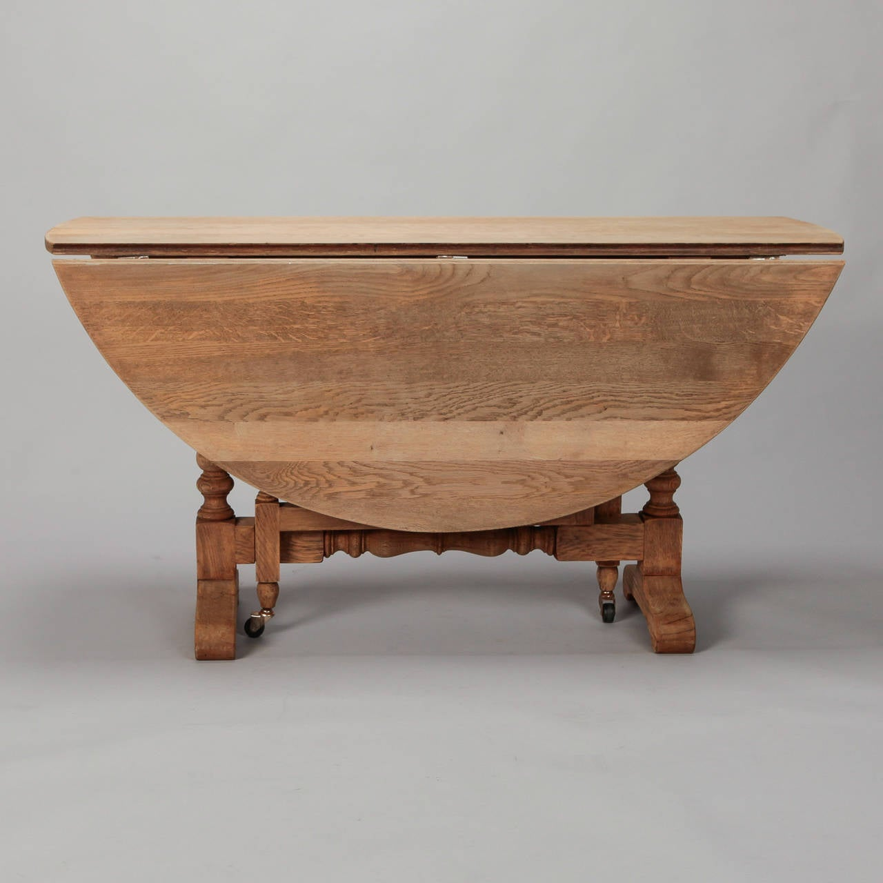 Bleached Oak English Drop Leaf Table For Sale At 1stdibs. Full resolution  img, nominally Width 1280 Height 1280 pixels, img with #3D2216.